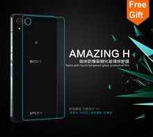 for sony Z2 0.26mm 9H 2.5D Retail Box Back Tempered Glass For Sony Xperia Z2 L50 L50W Premium Screen Anti Shatter Protector Film