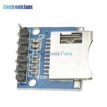 1Pcs Micro SD Storage Expansion Board Mini Micro SD TF Card Memory Shield Module With Pins for Arduino ARM AVR(China)