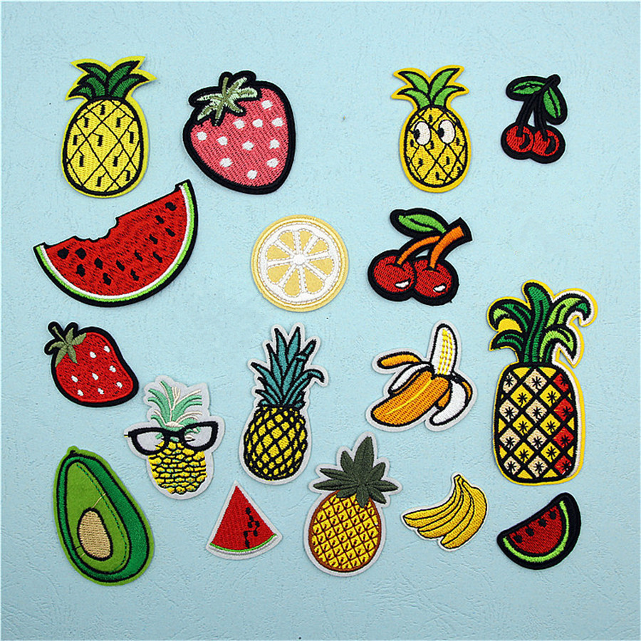 Pf Fine Stripe Fruit Patch Pineapple Embroidery For Clothing Chain Saw Engine 20ampquot Mata Oregon 2 Tak Morris Mcs 6000 Or Applique Accessories Tops Bag Iron On Patches Stickers Tb211 Us234