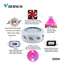LED Grow Light Fitolampa UFO 300W Double Chips Full Spectrum LED plant grow Lamp For Indoor Medical Plants Flowering grow CJ(China)