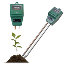 High Quality 3 in1 PH Tester Soil Water Moisture Light Test Meter for Garden Plant Flower Kit Hydroponics Analyzer Factory Price