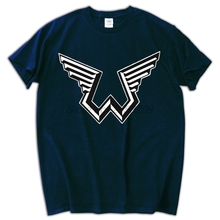 New Paul McCartney Wings Logo Music Legend Men's T-Shirt  top tees