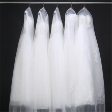 160cm 180cm Transparent Wedding Dress Dust Cover Soft Tulle Garment Bags Bridal Gown Scratch Resistant Net Yarn Bag