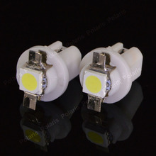 10pcs Hot Sale B8.5D Car Gauge 5050 1 SMD LED B8.5 Auto Warning Wedge Speedo Dashboard Side Light Bulb Lamp(China)