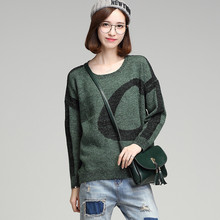 2017 Hot Sale Fashion Brand She knitted Sweater Autumn Winter Women Sweaters And pullovers Style High-quality Cashmere Sweaters(China)