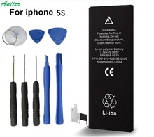 Antirr Brand New 1560mAh for iPhone 5S 5C Replacement Inner built-in Li-ion Battery with 8 pcs Tools Kit