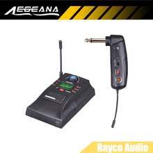 Electric Guitar UHF Wireless System OKMIC 8R 6T DPL L digital frequency 16 selectable channels transmitter 90 degrees