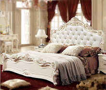 classical wood double bed designs with box