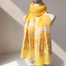 2017 cheap fake silk long scarf pashmina