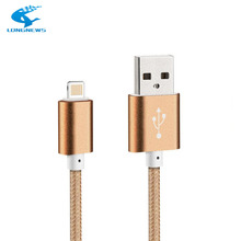 LONGNEWS ios USB Cable 1.5M 8-pin Wire For Apple Iphone 5 SE 6 7 S plus iPad 4 Sync Charging Data Transfer Brand iPhone USB Cabl