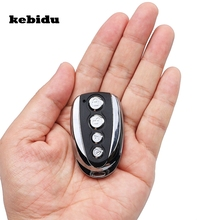 kebidu 4 Button 433Mhz Garage Remote Control Face to Face Duplicator Copy Controller Learning Code Car Gate Rolling Code(China)