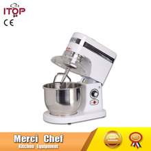 Home use or commercial use 5 Liters electric stand food mixer, planetary cooking mixer, egg beater, dough mixer machine(China)