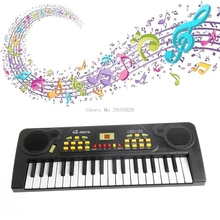 Electric Toy 37 Keys Chidren Kid Piano Electronic Music Keyboard Electric Toy+Mic Adapter -B116