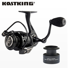 KastKing Mela II Upgrading Carbon Fiber Drag Spinning Reel with Extra Spool Freshwater Fishing Reel Free Shipping(China)