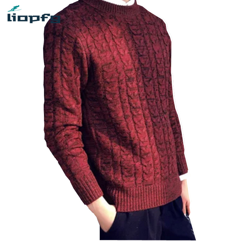Spring And Autumn New Round Neck Men Sweater Student Hedging Korean Version Of Men 's Sweaters Relaxed And Comfortable Mk575(China (Mainland))