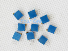 20 pcs DIY Kit Parts Variable Resistors High Precision 2K 202 3296W Potentiometer 3296 Multiturn Trimmer Adjustable Resistance