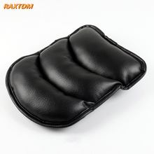 Universal Car Leather Central Armrest Console Box Pad Cover Cushion Support Box Arm Rest Seat Box Padding Protective Case Soft(China)