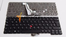 Laptop keyboard For IBM for Lenovo Thinkpad X1 Helix replacement notebook KEYBOARD SP Spain with red pointing and black color
