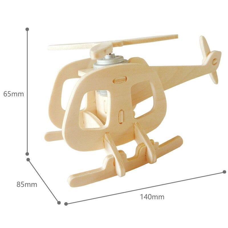 Robud 11 Kinds Solar Energy Powered Plane 3D Wooden Model Building Popular Creative Toys Hobbies Gift for Children,Teens P250 39