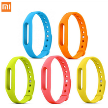 Original Xiaomi Miband 1&1S &Xiaomi mi band 1 Wristband Silicon Strap For Smart Bracelet Accessories Replaceable Smart Band Belt