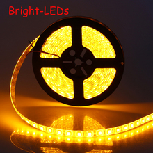 NEW 2015 LED NON-Waterproof Strip SMD 5050 LED 5M DC12V Flexible Light saving string light novelty households christmas(China)