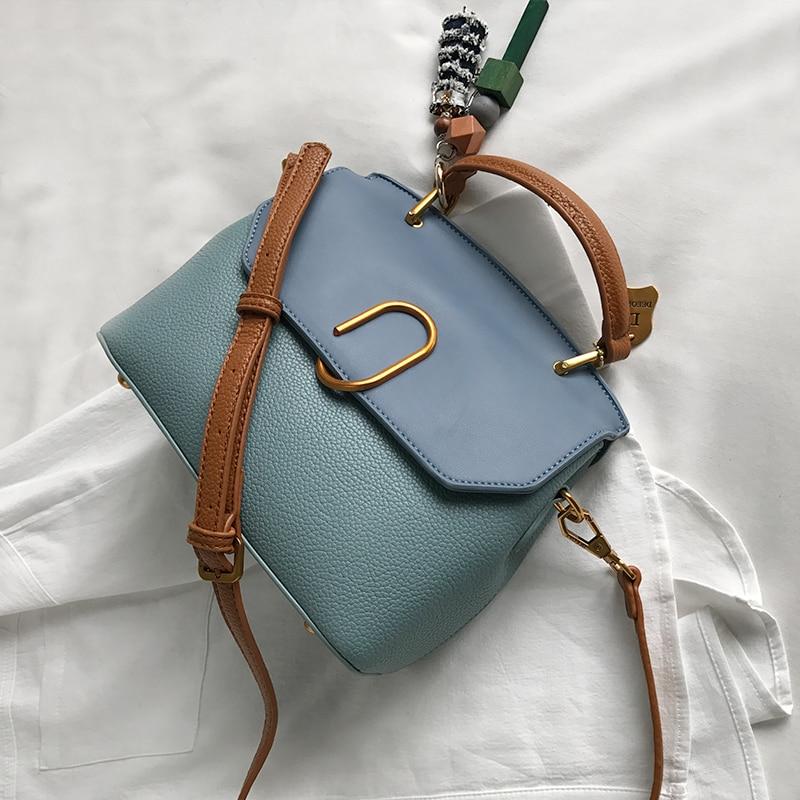 messenger bag Women totes Handbag Shoulder Bag Famous Designer Crossbody Bags  light blue pink brown purple color 2017 new<br><br>Aliexpress