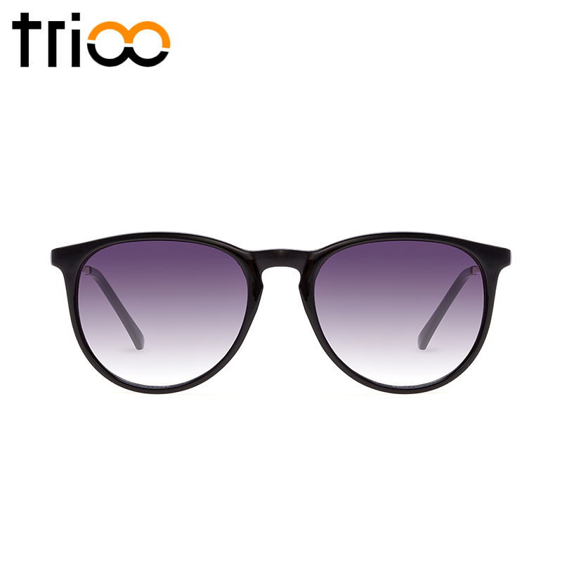 TRIOO Classic Style Black Polarized Sunglasses Elasticity TR90 Material Sun Glasses For Men Women High Fashion Timeless Shades<br><br>Aliexpress