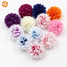 20PCS DIY Small Artificial Silk Flowers Head For Home Wedding Party & Wedding Car Corsage Decoration Scrapbooking Fake Flowers