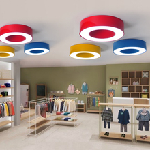 Children lamp color garden light ceiling light garden ring engineering lamp nursery classroom office hallway lighting lamps ET83