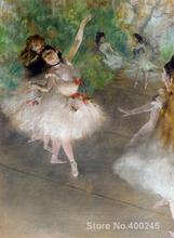 Canvas art gallery oil paintings Dancers by Edgar Degas reproduction High quality(China)