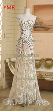 2015 Hot Sale Fast Delivery Sweetheart Sexy Prom Ball Party Evening Dress Sequined US Size 2 4 6 8 10 In Stock AINGK010