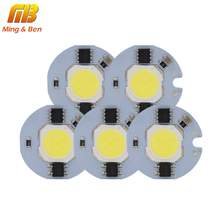 [MingBen] 5pcs LED COB Chip Light 9W 7W 5W 3W 220V 230V Input Smart IC Cold White Warm White DIY For LED Spotlight Floodlight