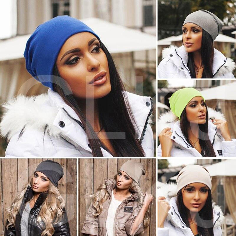 Blended Beanie Slouch Warm Skullies Women Lady Fashion Jersey Cotton Hat Festival Unisex Mens Ladies Cap Spring FallÎäåæäà è àêñåññóàðû<br><br><br>Aliexpress
