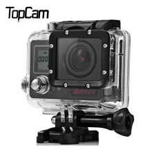 New Amkov AMK7000S 4K Ultra HD WiFi Sports Action Camera Waterproof with 170 Degree View Angle and Remote Control Watch