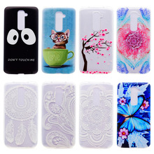 Phone Cover Case For LG Optimus G2 F320 D800 D801 D802TA D803 VS980 LS980 VS-980 D805 Cellphone Silicone Cases Cover Hoousing