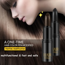 DIY Styling Professional Temporary Hair Dye Cream Black/ Brown Mild Fast One-off Hair Color Pen Cover White Hair Stick