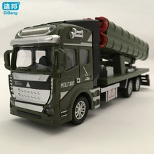 Dibang 1:48 missile car model kids toys DB-006609-1 pull back diecast truck alloy car military model free shipping(China)