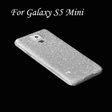 Bling Glitter Shiny Crystal Diamond Full Body Front and Back Wrap Decal Film Sticker Skin For Samsung Galaxy S5 Mini