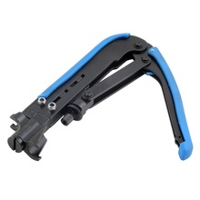 RG6 RG11 RG59 Coaxial Cable Crimper Compression Tool For F Connector CATV Satellite