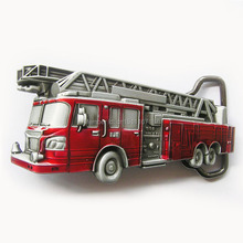 Distribute Belt Buckle Fire Truck Belt Buckle Free Shipping 6pcs Per Lot Mix Style is Ok