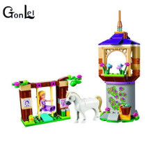 (GonLeI)10564 Girls Princess Friends Rapunzel's Best Day Ever Bakery DIY 3D Blocks Toy Gift Compatible With