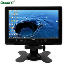 Super HD LCD 7inch Monitor With VGA+AV+HDMI Ultra High Brightness Up To 800*480 Car Monitor Display Family And Car USE(China)