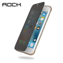 Rock Flip Case for iPhone 7 7 plus Case Ultra Slim Thin Full Screen Window Touchable Smart Case Dr.V Series Flip Cover(China)