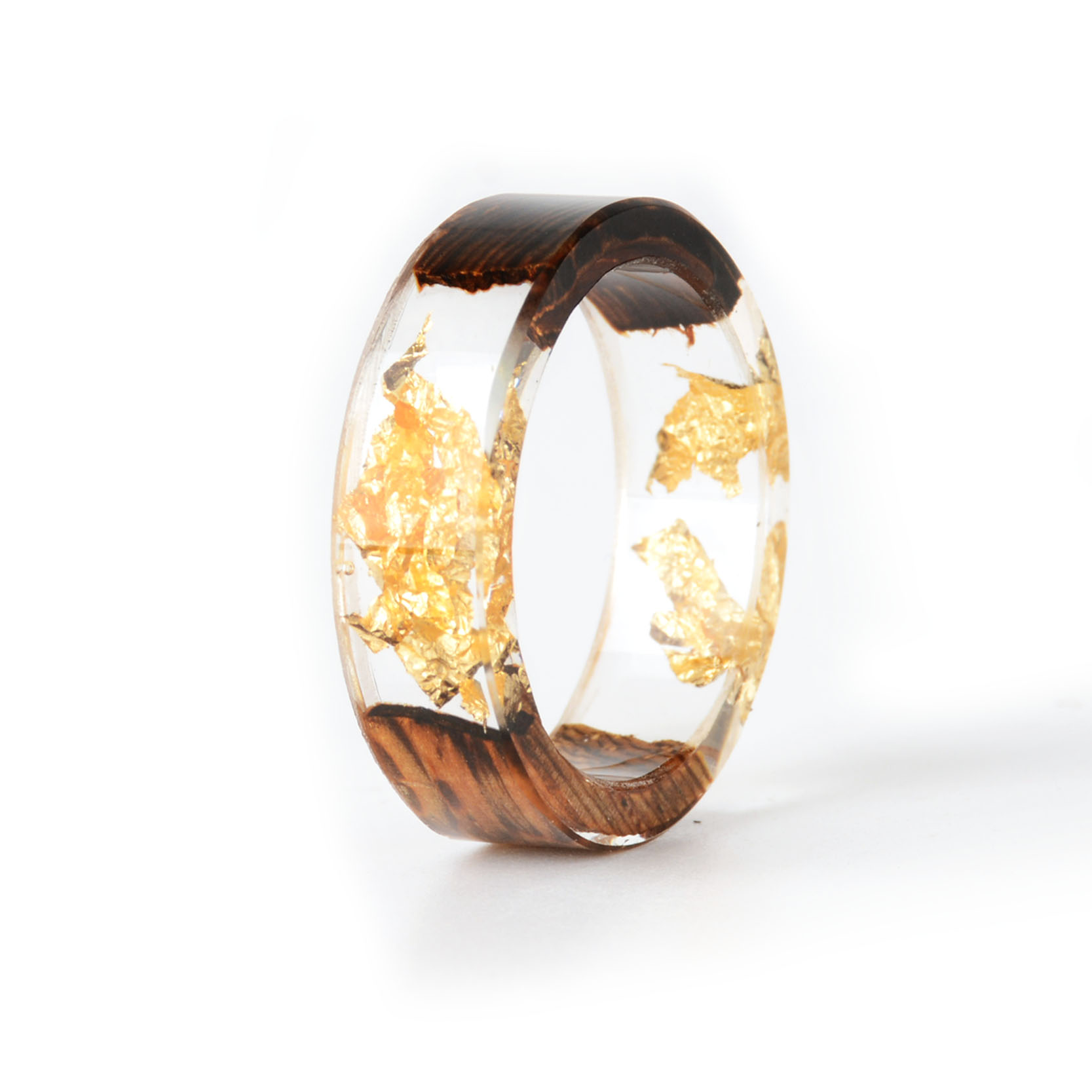 Handmade Wood Resin Ring Many Styles 24