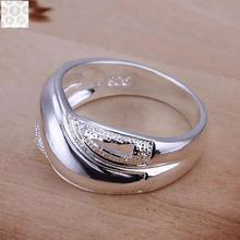 R121 925 Stamped silver plated jewelry Hot sell new design finger ring for lady