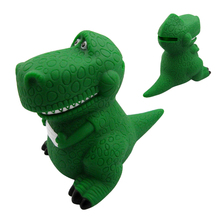 Original Anime Movie Toy Story 3 Rex the Green Dinosaur PVC Figure Toy Piggy Bank Birthday Christmas New Year Gift Limited Cos(China)