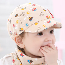 New Arrival Baby Kid Hat Little Car Pattern Fashion Cool Baseball Beret Cap for Boy Girl Toddler Infant Hats(China)
