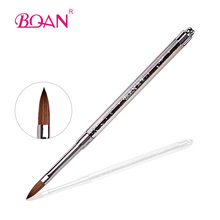 Free Shipping Professional Acrylic Nail Brush Product 2# Acrylic Brush Kolinsky in makeup Brushes Nail Brushes Ebay