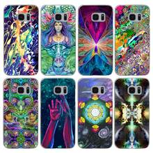 H555 Trippy Awesome Smiley Transparent Hard PC Case Cover For Samsung Galaxy S 3 4 5 6 7 8 Mini Edge Plus Note 3 4 5 8(China)