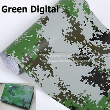 "4""/8""/12""/16""/20""/24""x60""/Lot Green Digital Camouflage Vinyl Car Wrapping Camo Film Sticker Air Free Bubbles Free Ship"